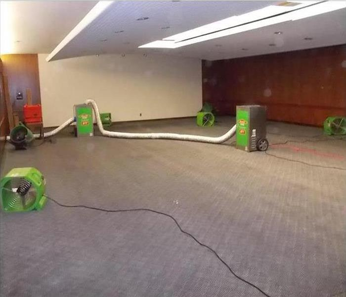 Jacksonville Commercial Water Damage After