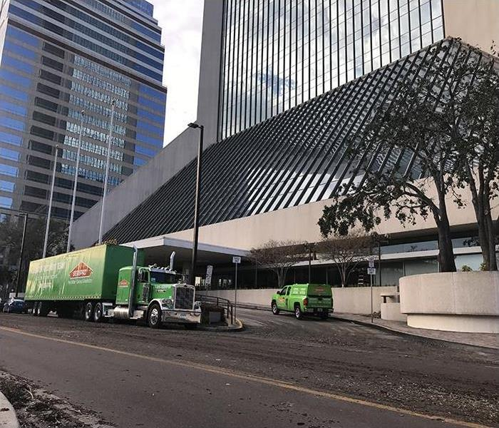SERVPRO At The Wells Fargo Building In Downtown Jacksonville