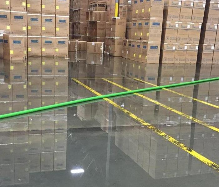 500,000 square feet of water damage in Jacksonville
