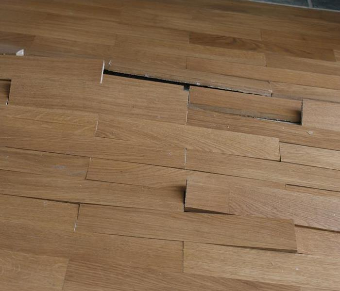 Jacksonville Water Damage   Laminate Flooring