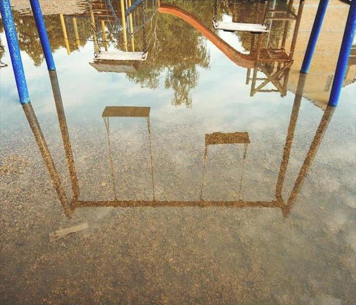 Commercial Restoring Flood Damages to a Town Center School