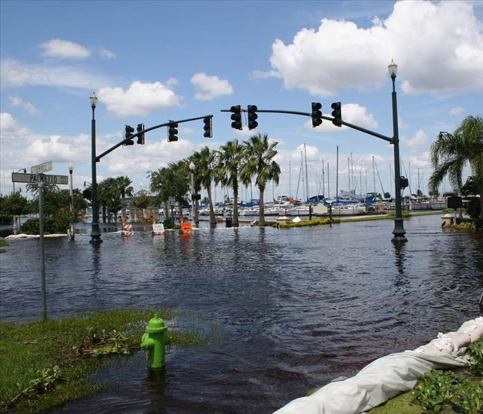 Commercial Jacksonville Commercial Flood Damage Needs the SERVPRO Solution