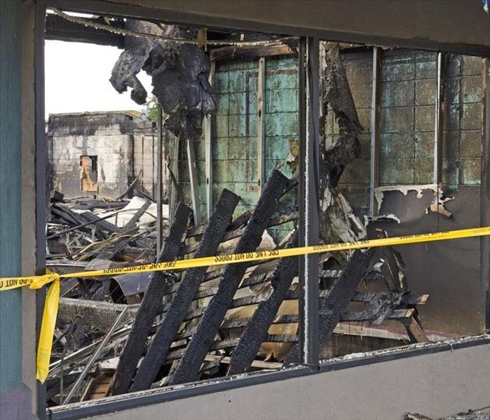 Commercial Develop A SERVPRO Emergency Ready Profile And Plan For Potential Commercial Fire Damage